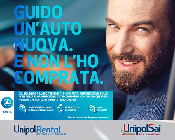 Servizio di noleggio a lungo termine Car Server UnipolSai